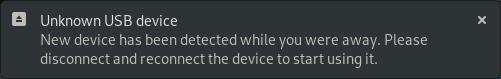 USB Notification